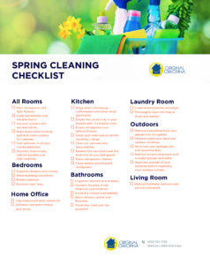 orkopina spring cleaning checklist
